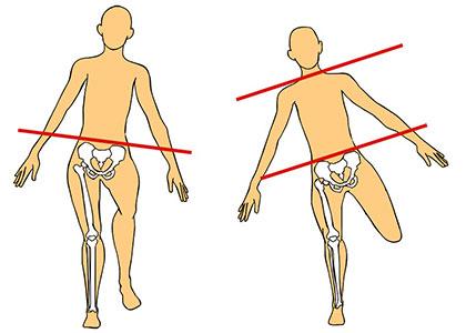 筋肉のコントロール